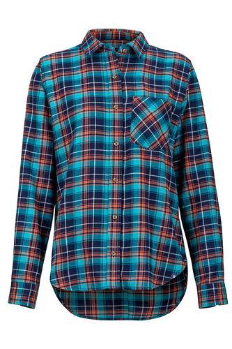 Marmot Mountain LLC Women's Maggie Lightweight Long Sleeve Flannel Shirt