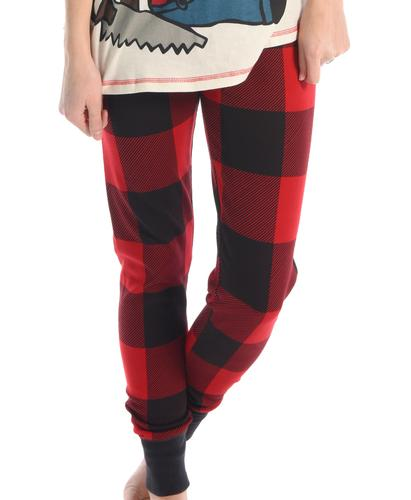 Lazy One Women's Sawing Logs Pajama Pants