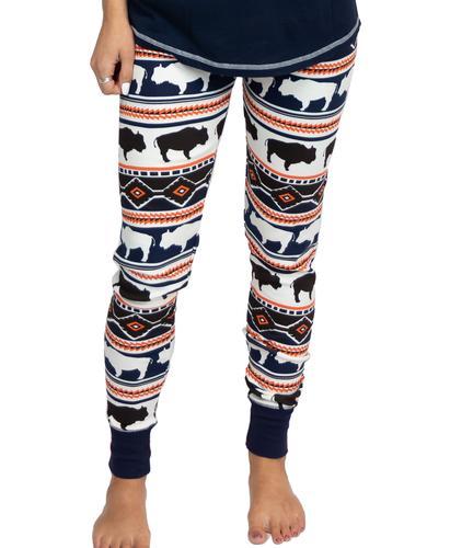 Lazy One Women's Buffalo Fair Isle Pajama Pants