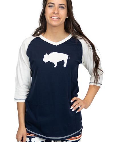 Lazy One Women's Buffalo Fair Isle Pajama Shirt