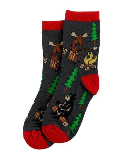 Lazy One Kids' Happy Camper Sock