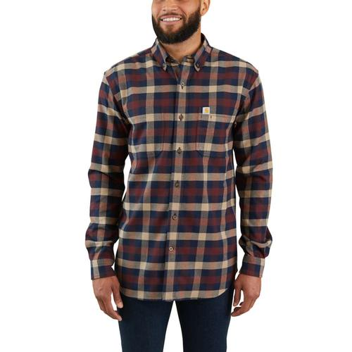 Carhartt Men's Rugged Flex Hamilton Plaid Shirt Big and Tall