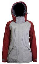 Turbine Women's Glacier Jacket SCARLET