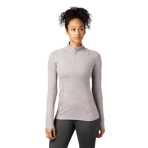 Mountain Hardwear Women's Ghee Long Sleeve Quarter Zip