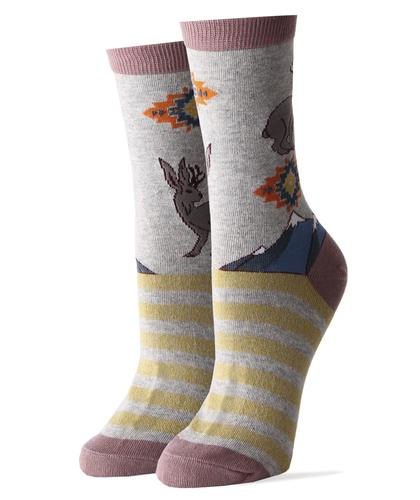 Sock It Up Women's My Jackalope Socks