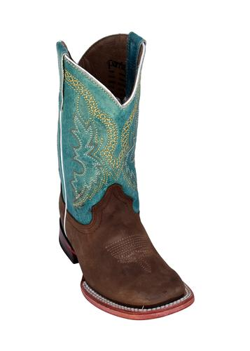 Ferrini Kid's Cowhide S-Toe Boots