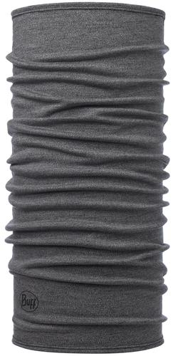 Buff Midweight Merino Wool Light Grey Melange Buff