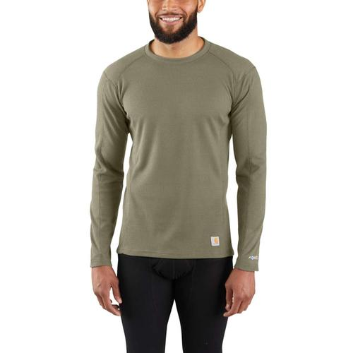 Carhartt Men's Midweight Classic Crew Baselayer Thermal Shirt