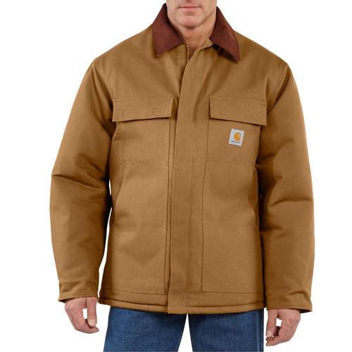 Carhartt Men's Traditional Arctic Duck Quilt Lined Coat
