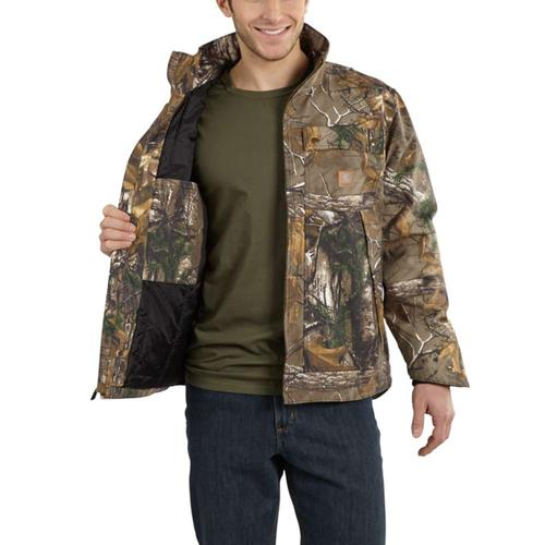 Carhartt Men's Camo Quick Duck Jacket
