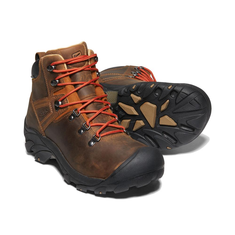Keen Men's Pyrenees Boots in Maple SYRUP