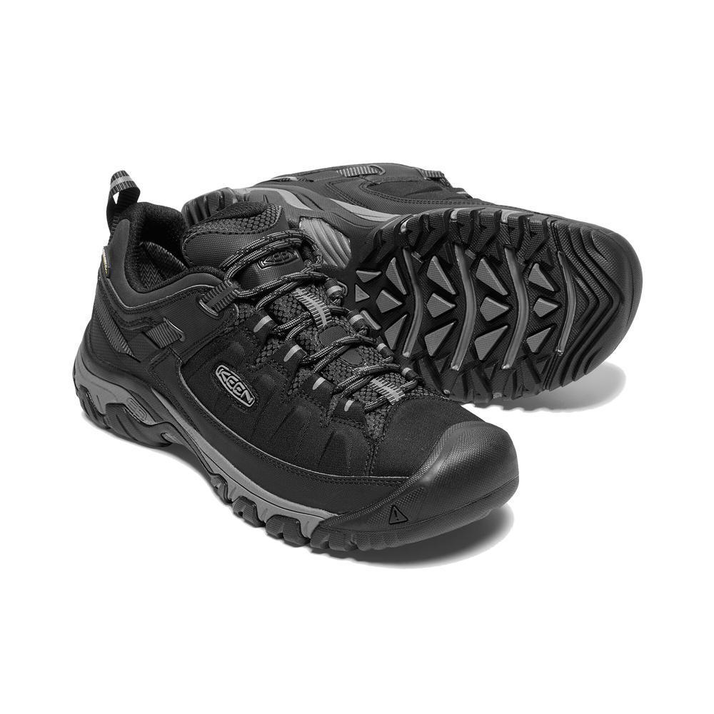 Keen Men's Targhee Exp Waterproof Hiking Shoe BLACK