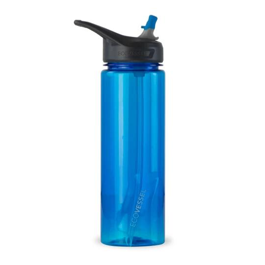Ecovessel The Wave Sports Bottle BLUE