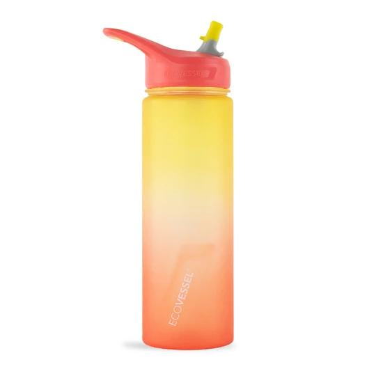 Ecovessel The Wave Sports Bottle RISING_SUN