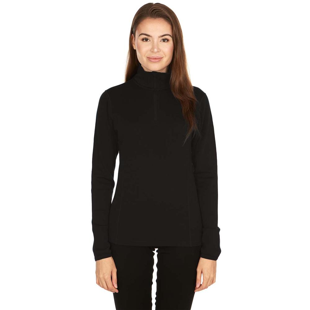 Minus33 Women's Sequoia Midweight Quarter Zip Wool Top