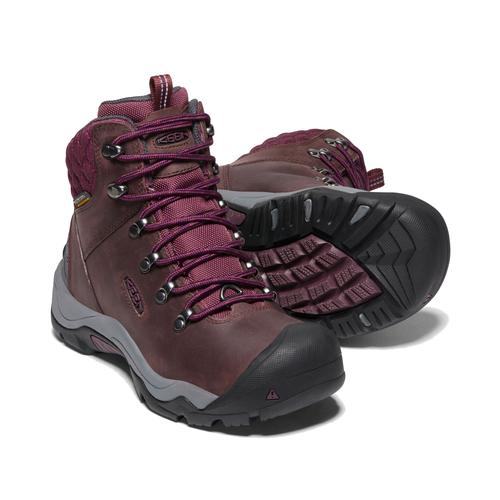 Keen Women's Revel 3 Waterproof Boot in Peppercorn
