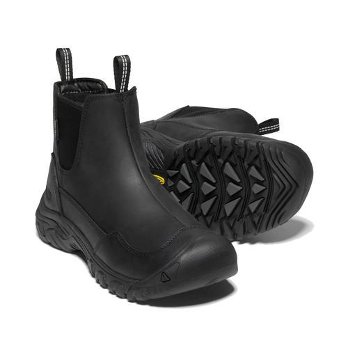 Keen Women's Hoodoo 3 Chelsea Waterproof Boot in Black
