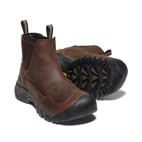 Keen Women's Hoodoo 3 Chelsea Waterproof Boot in Tortoiseshell