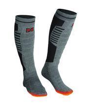 Mobile Warming Premium Bluetooth Heated Sock GREY/BLACK