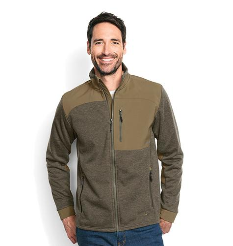 Orvis Men's Hybrid Wool Fleece Jacket