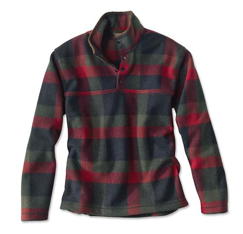 Orvis Men's Green Mountain Snap Neck Fleece