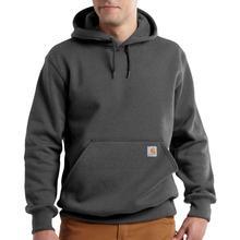 Carhartt Men's Rain Defender Paxton Heavyweight Hooded Zip Front Sweatshirt Tall Sizes CARBON_HEATHER