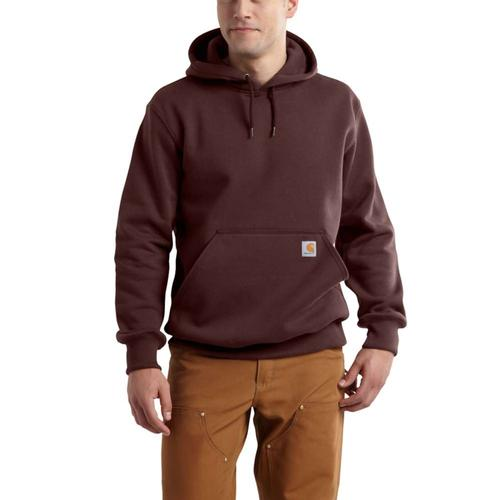 Carhartt Men's Rain Defender Paxton Heavyweight Hooded Zip Front Sweatshirt Tall Sizes