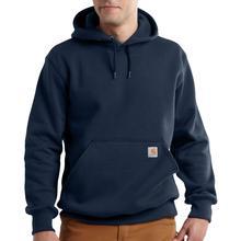 Carhartt Men's Rain Defender Paxton Heavyweight Hooded Zip Front Sweatshirt Tall Sizes NEW_NAVY