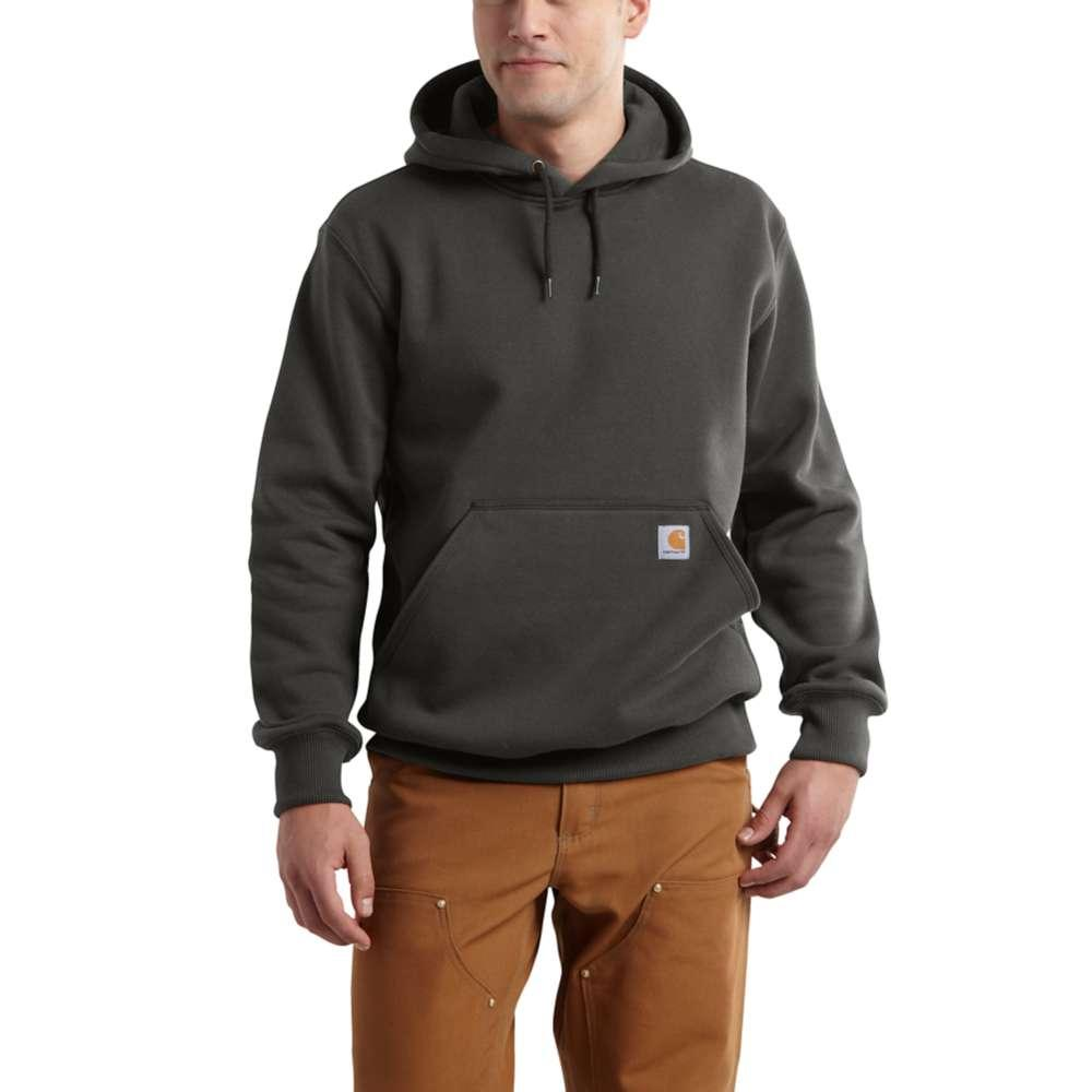 Carhartt Men's Rain Defender Paxton Heavyweight Hooded Zip Front Sweatshirt Tall Sizes PEAT