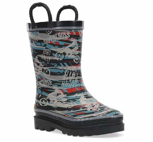 Western Chief Kid's Supercross Rain Boot