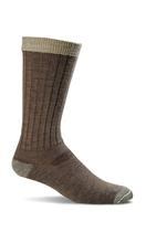 Sockwell Men's Easy Does It Relaxed Fit Diabetic Socks BARK