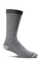 Sockwell Men's Easy Does It Relaxed Fit Diabetic Socks GREY