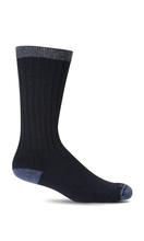 Sockwell Men's Easy Does It Relaxed Fit Diabetic Socks NAVY