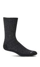 Sockwell Men's Big Easy Relaxed Fit Diabetic Sock BLK_MULTI