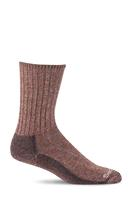 Sockwell Men's Big Easy Relaxed Fit Diabetic Sock GINGER