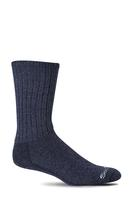 Sockwell Men's Big Easy Relaxed Fit Diabetic Sock NAVY
