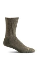 Sockwell Men's Big Easy Relaxed Fit Diabetic Sock PINE