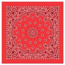 Carolina Creative Traditional Paisley Bandanna Red RED