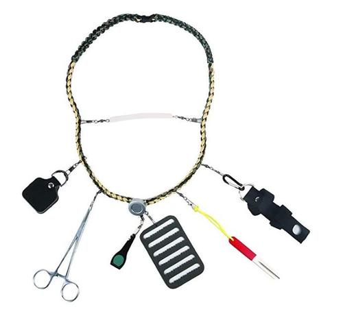 Creative Angler Fishing Lanyard with Tools