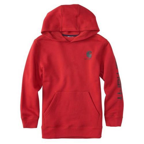 Carhartt Boys' Logo Hooded Sweatshirt