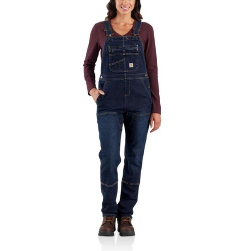 Carhartt Women's Denim Double Front Bib Overalls