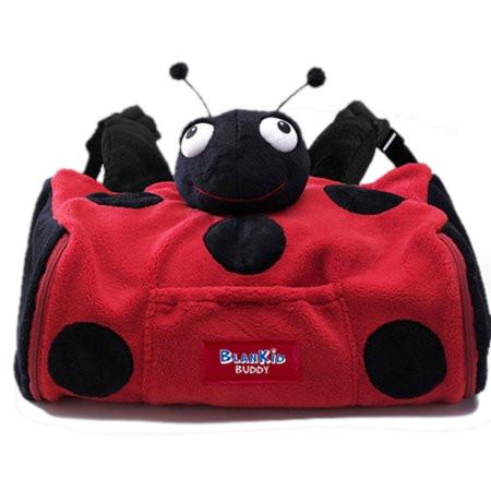 BlanKid Buddy Backpack 4-in-1 LadyBug