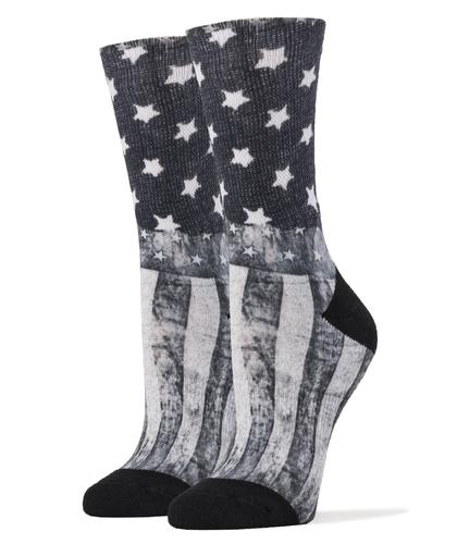 Sock It Up Women's 360 Printed Midnight Rider Socks