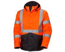 Helly Hansen Alta Winter Jacket ORANGE/CHARCOAL