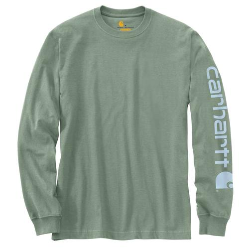 Carhartt Men's Signature Sleeve Logo Tee Long Sleeve