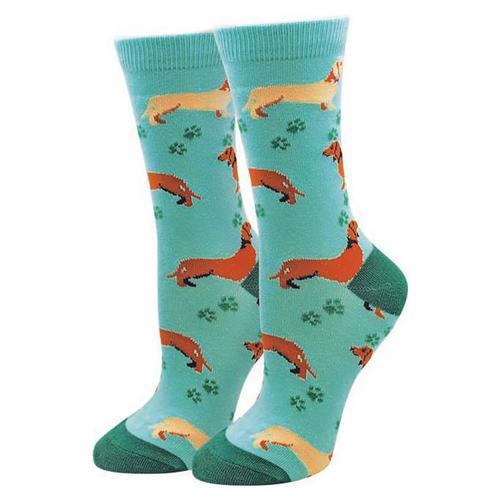 Sock Harbor Women's Wiener Dog