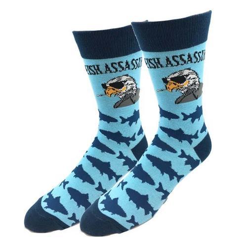 Sock Harbor Fish Assassin Socks