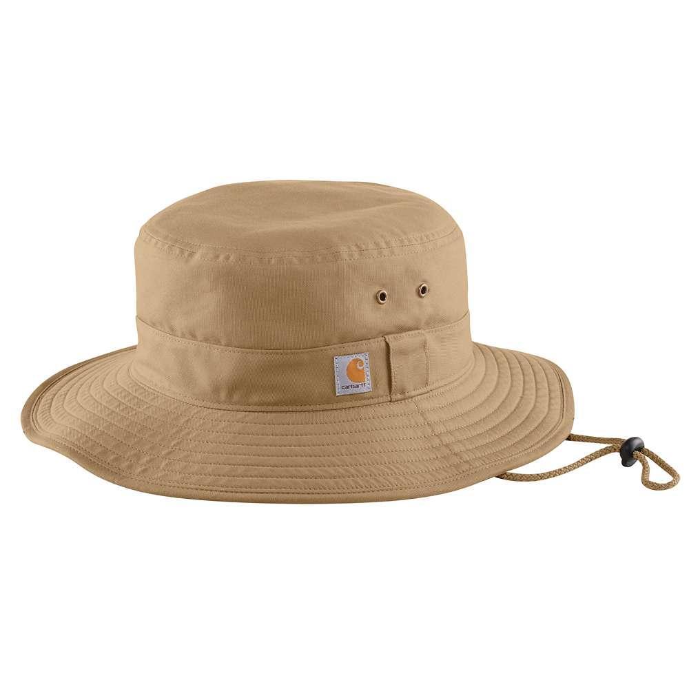 Carhartt Rugged Flex Rip Stop Full Back Boonie Hat DARK_KHAKI