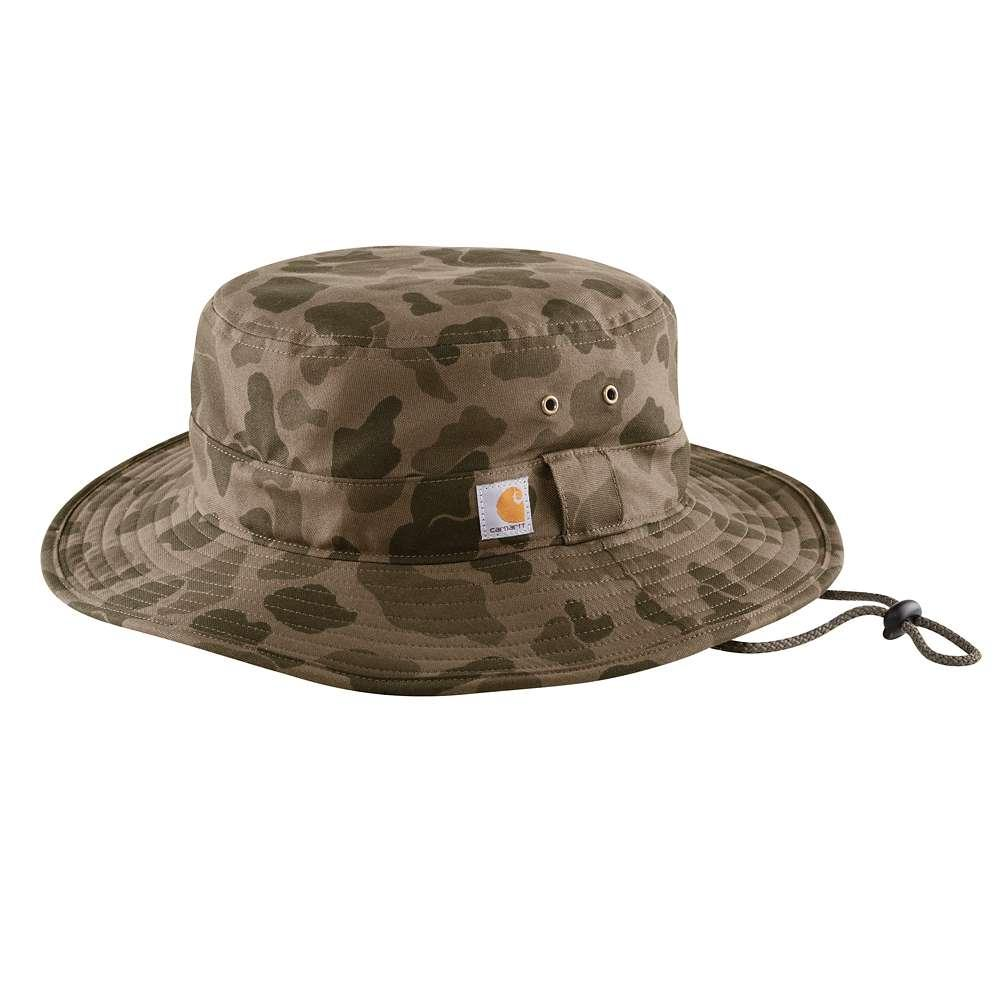 Carhartt Rugged Flex Rip Stop Full Back Boonie Hat TARMAC/CAMO