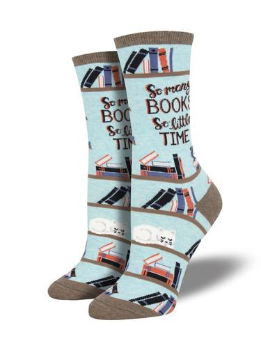 Socksmith Women's Time for a Good Book Socks